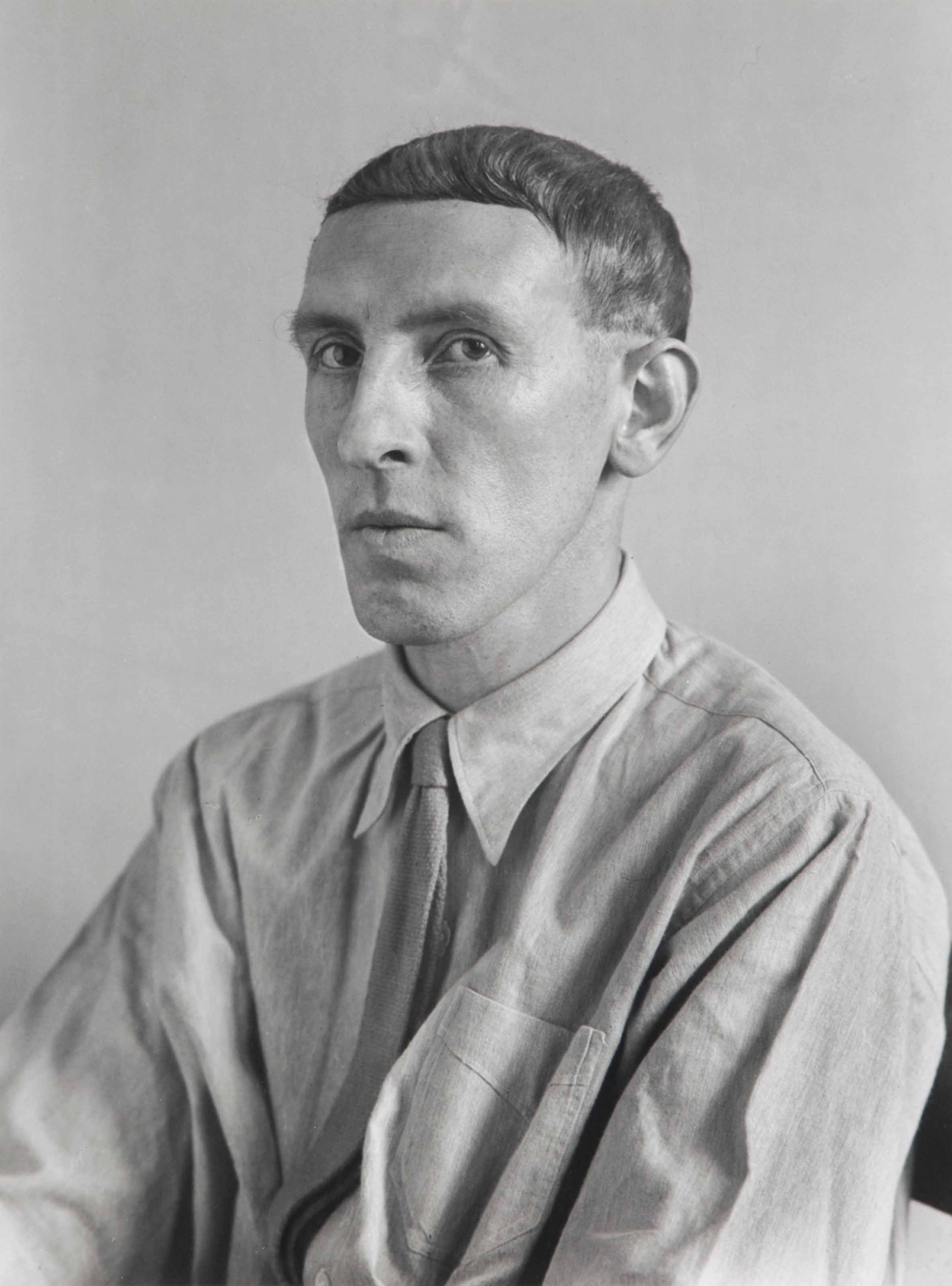 The Painter, Heinrich Hoerle, 1928