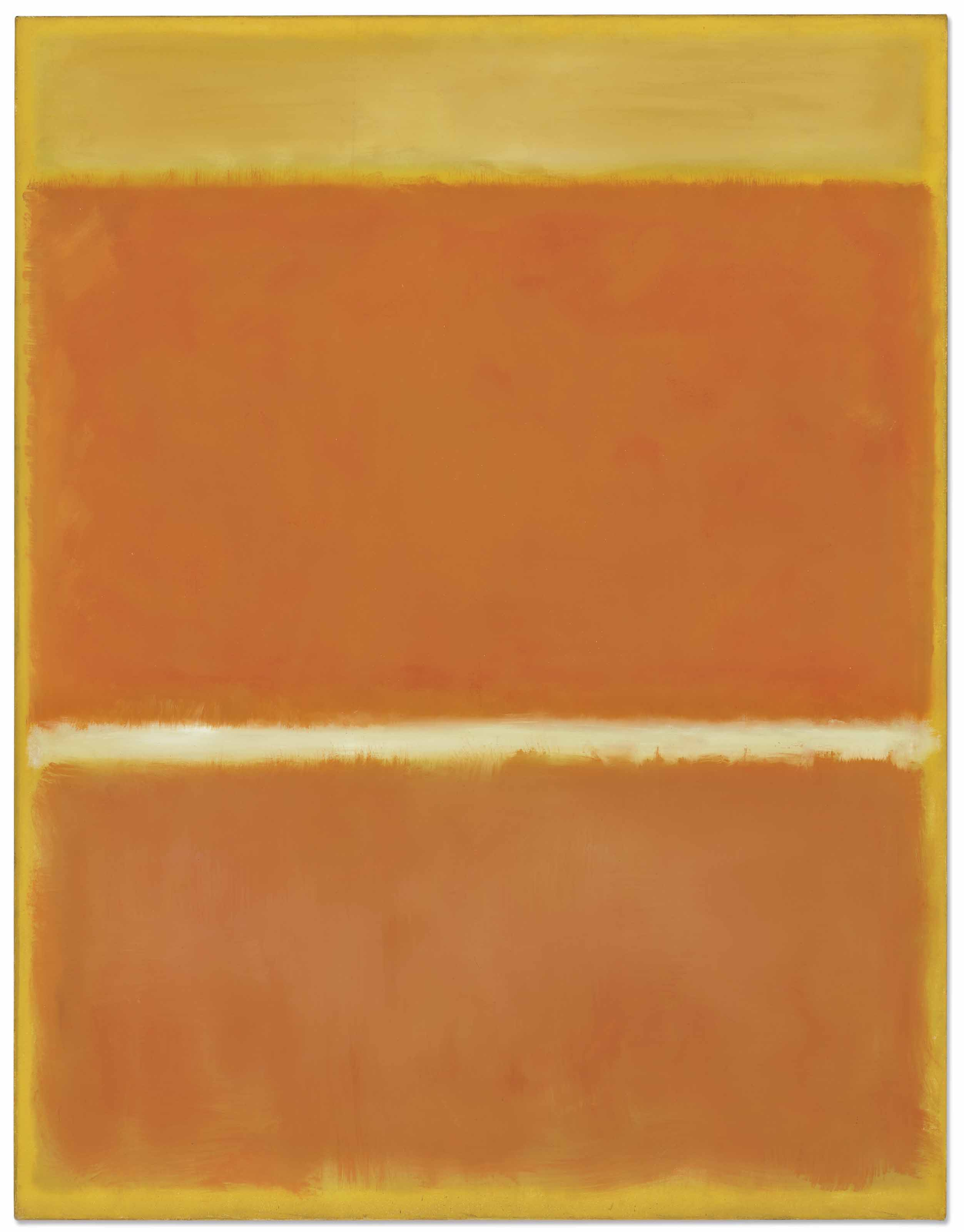 mark rothko saffron painted in 69 x