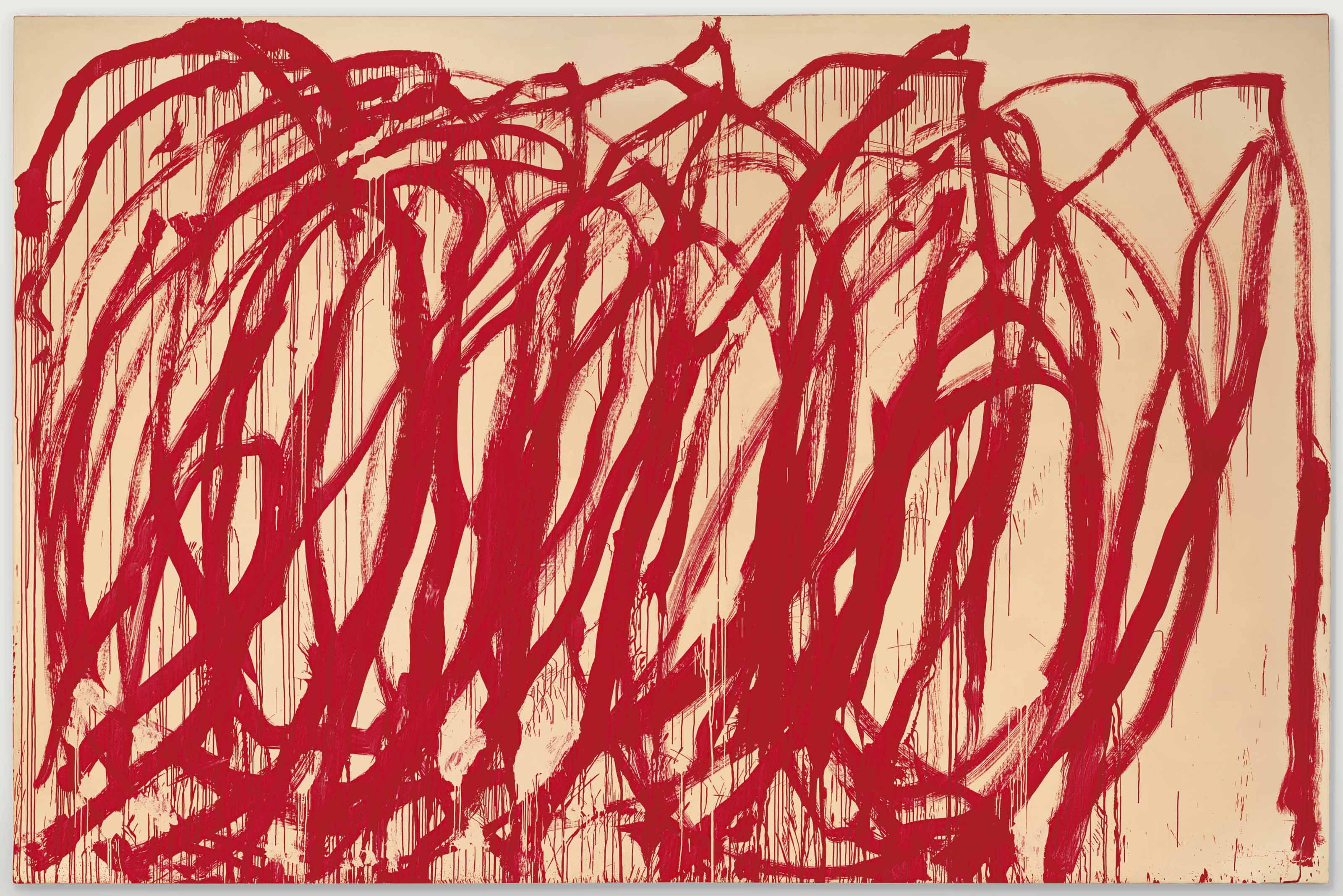 cy twombly untitled 128 x 194 in