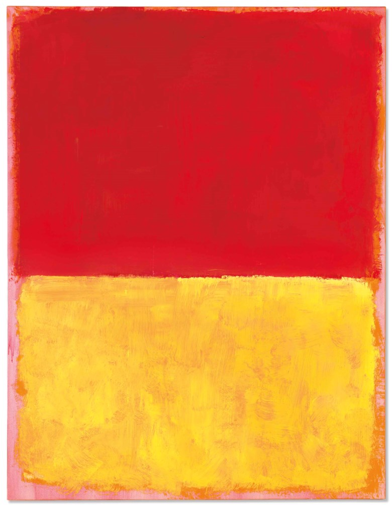 Mark Rothko (1903-1970), Untitled, painted in 1969. 52¾ x 40½  in (133.9 x 103  cm). Estimate $10,000,000-15,000,000. This lot is offered in Post-War & Contemporary Art Evening Sale on 15 November 2017  at Christie's in New York
