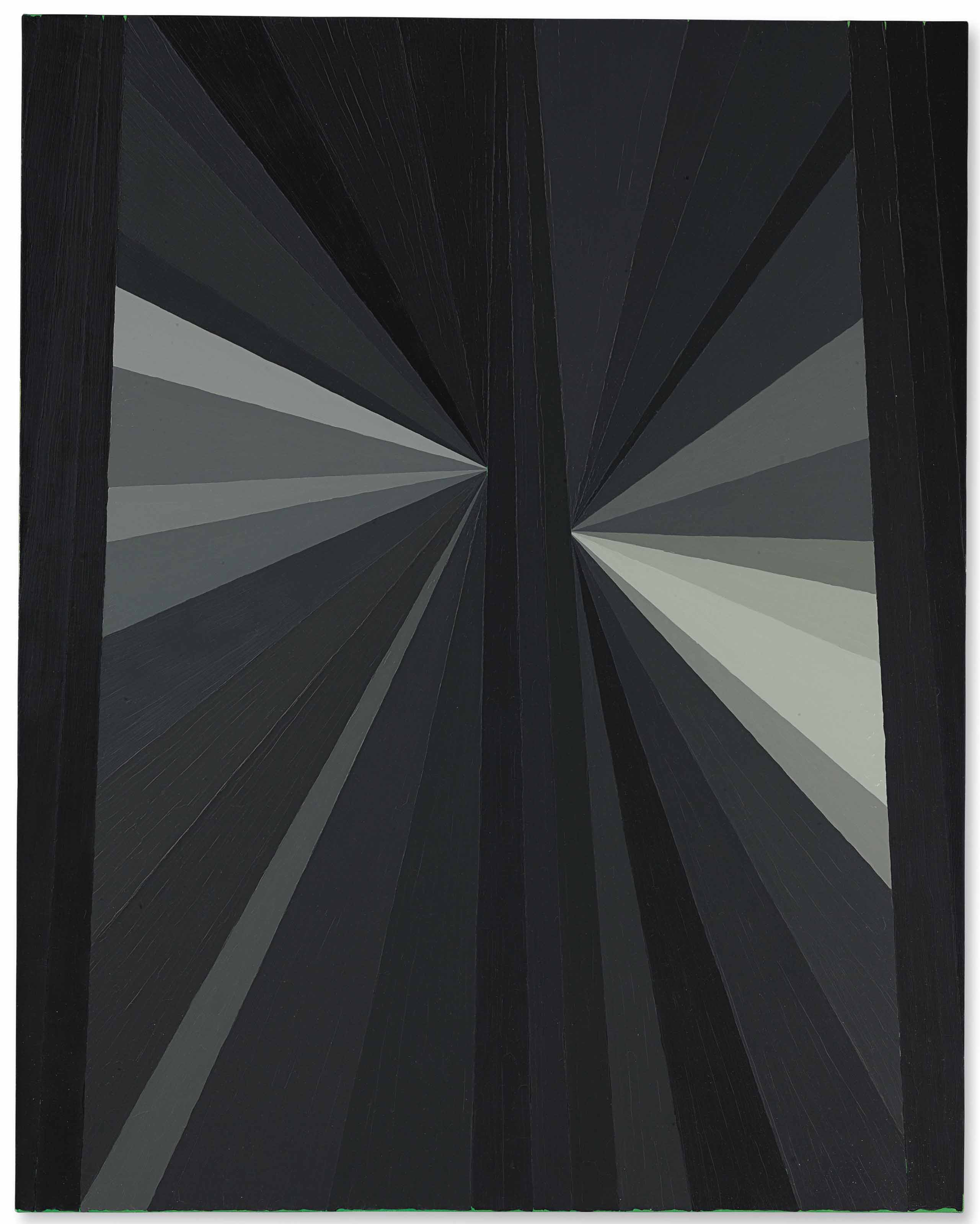Untitled (Black Butterfly Grey)