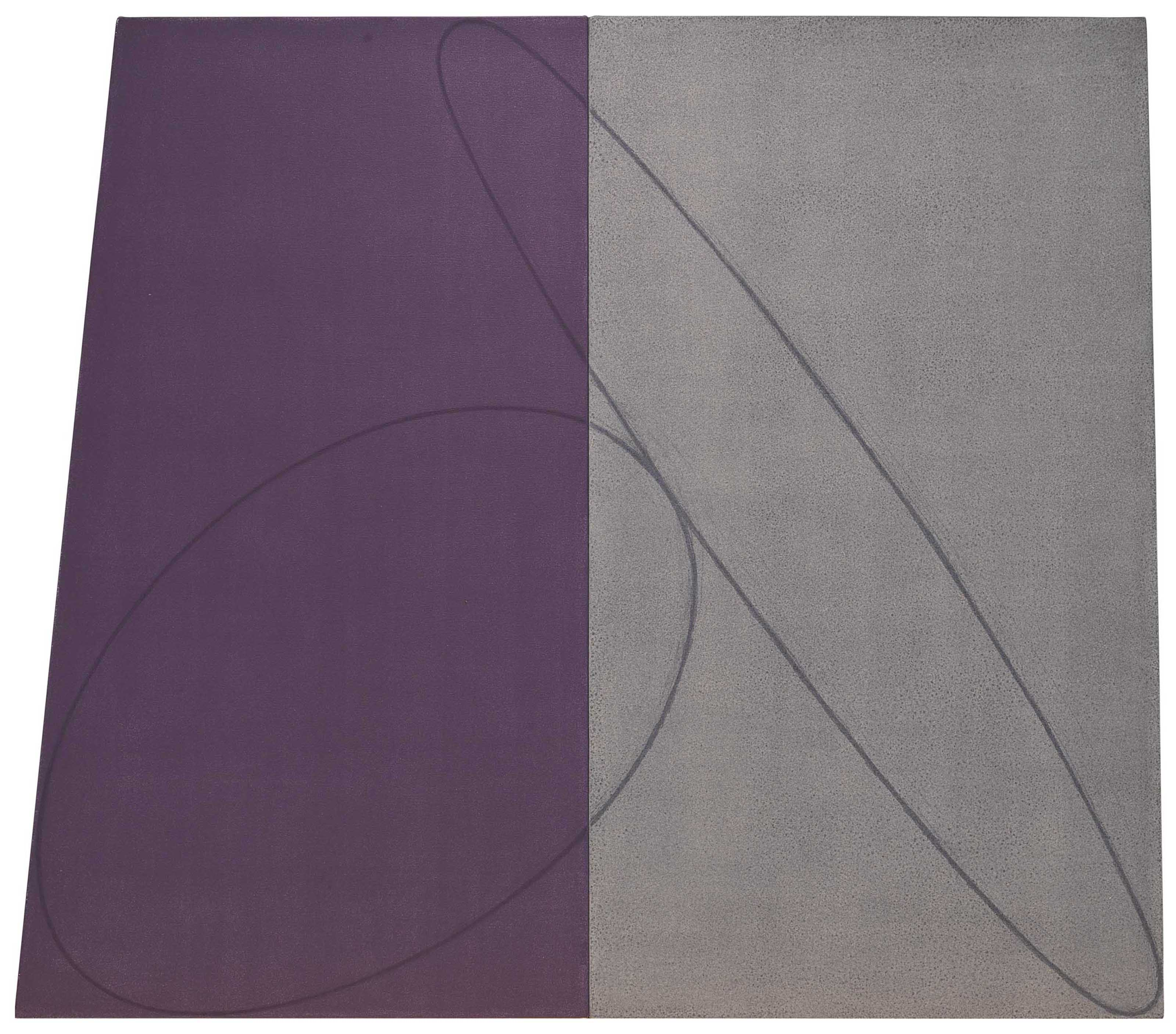 Plane/Figure Series G (Double Panel), Study