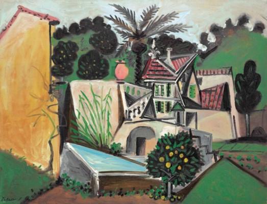Picasso La Villa Au Palmier