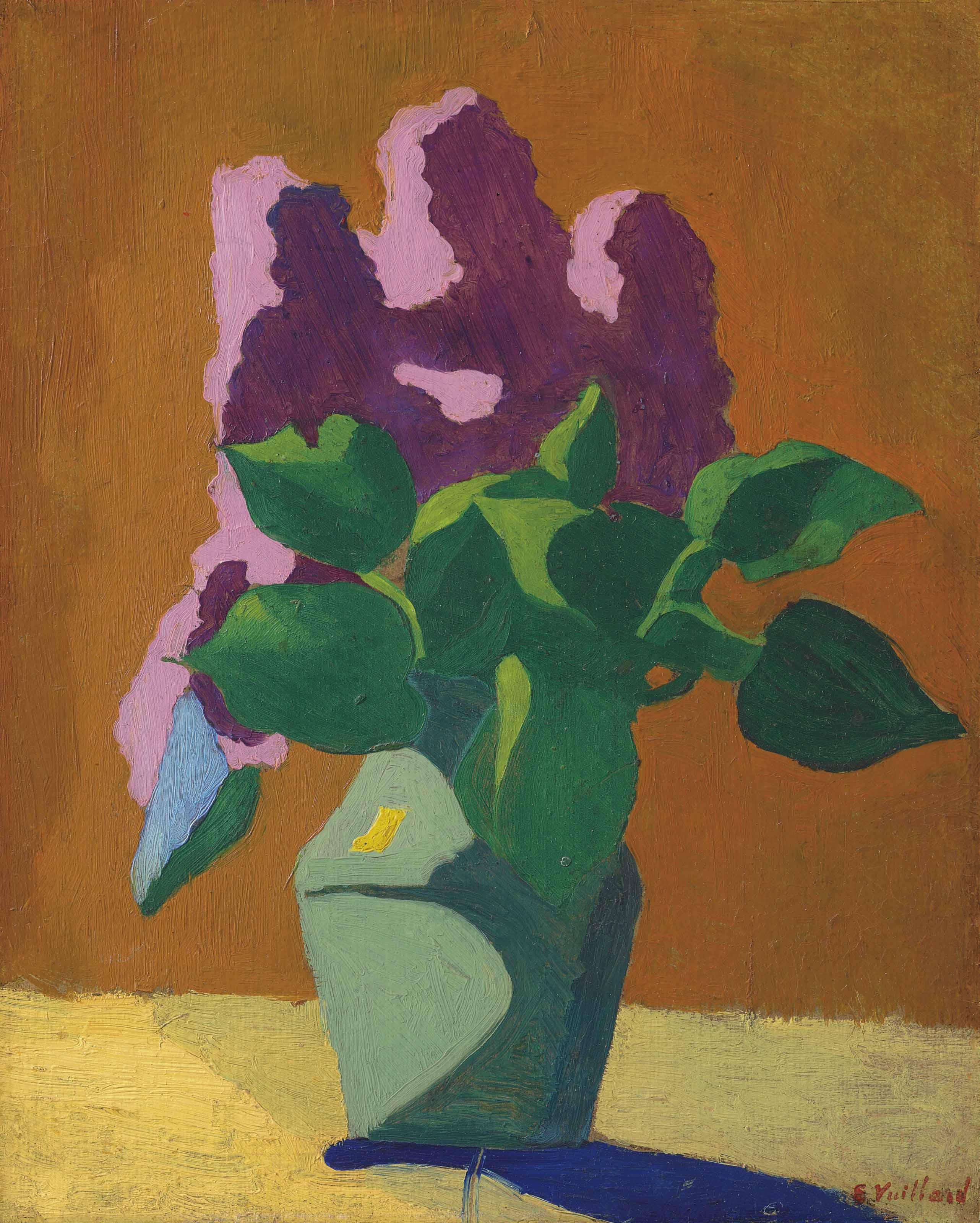 Les Lilas (Le bouquet schématique)
