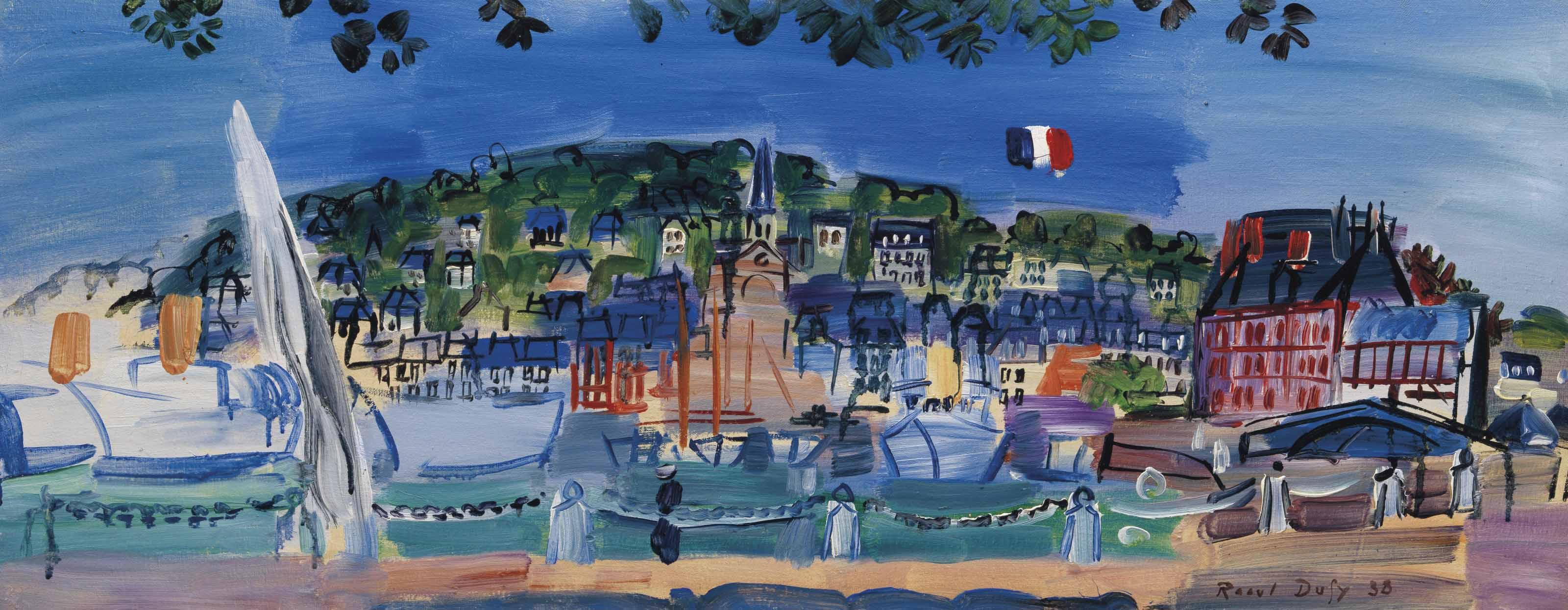 Le bassin de Deauville