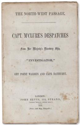 MCCLURE, Robert (1807-1873). C