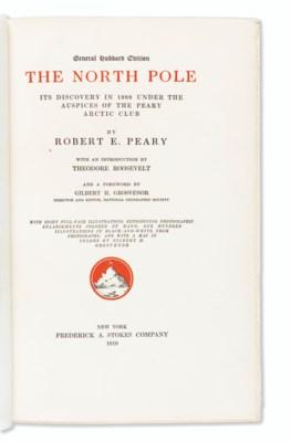 PEARY, Robert E. (1856-1920).