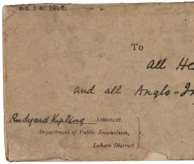 KIPLING, Rudyard (1865-1936) Departmental Ditties and Other