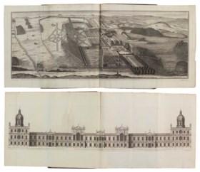 CAMPBELL, Colen (fl 1715-1729) Vitruvius Britannicus, or the