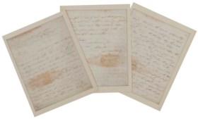 AUGUSTUS, Edward, Duke of Kent (1767-1820) Letter signed (