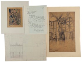 ARTS AND CRAFTS MOVEMENT – A collection of papers including