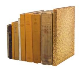 JAMES MCNEILL WHISTLER – A group of ten books, comprising: