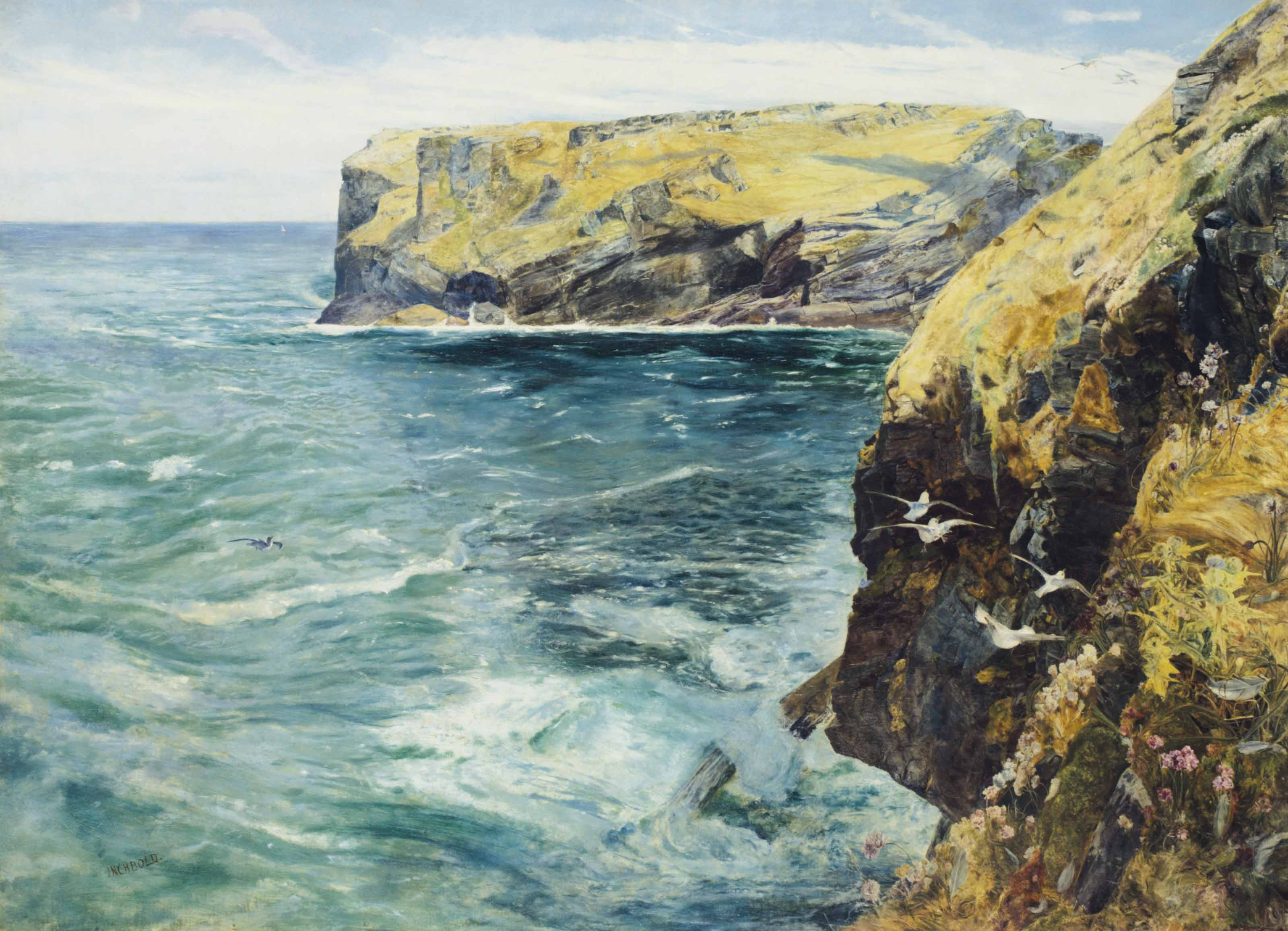 King Arthur's Island, Tintagel, Cornwall