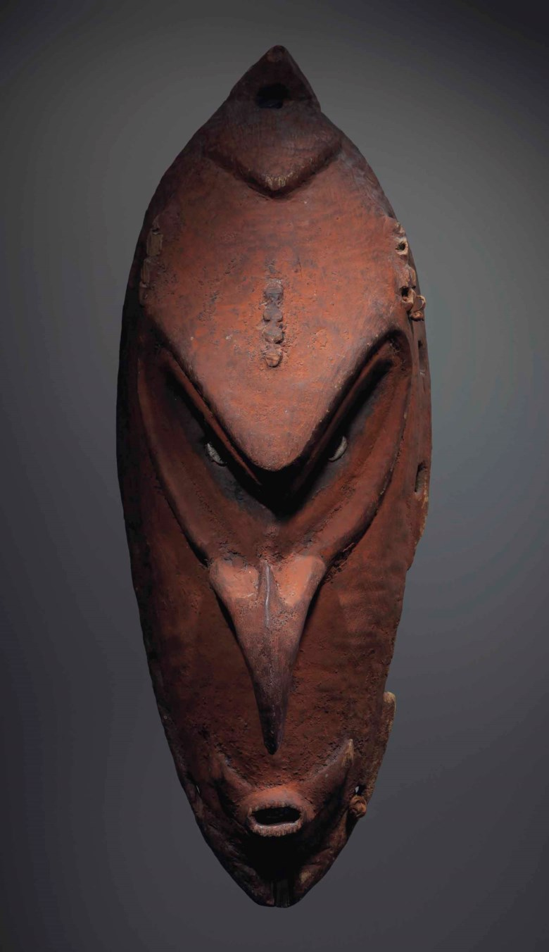 Sepik mask, Watam village, Papua New Guinea. Sold for €290,500 on 4 April 2017 at Christies in Paris