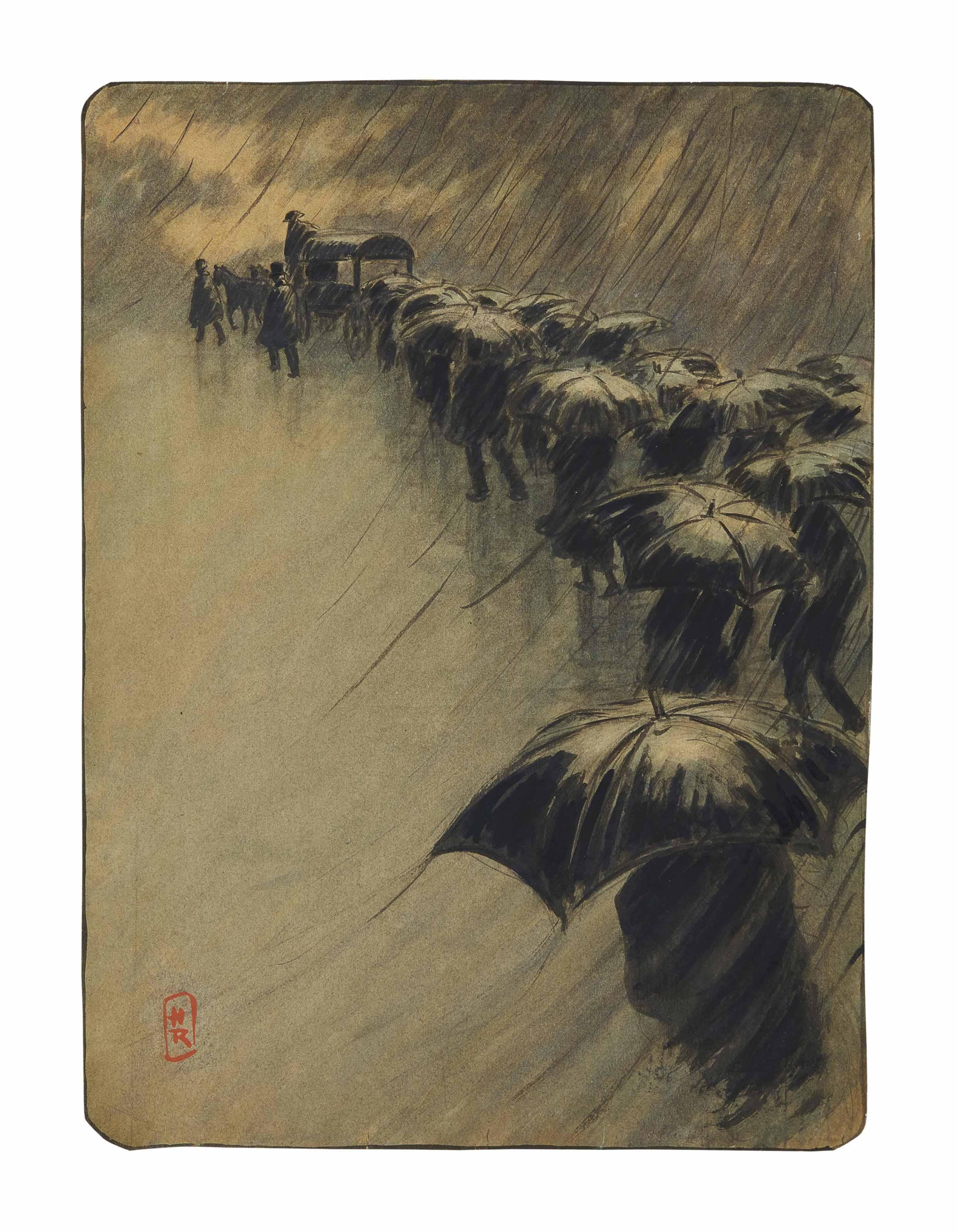 L'enterrement des parapluies