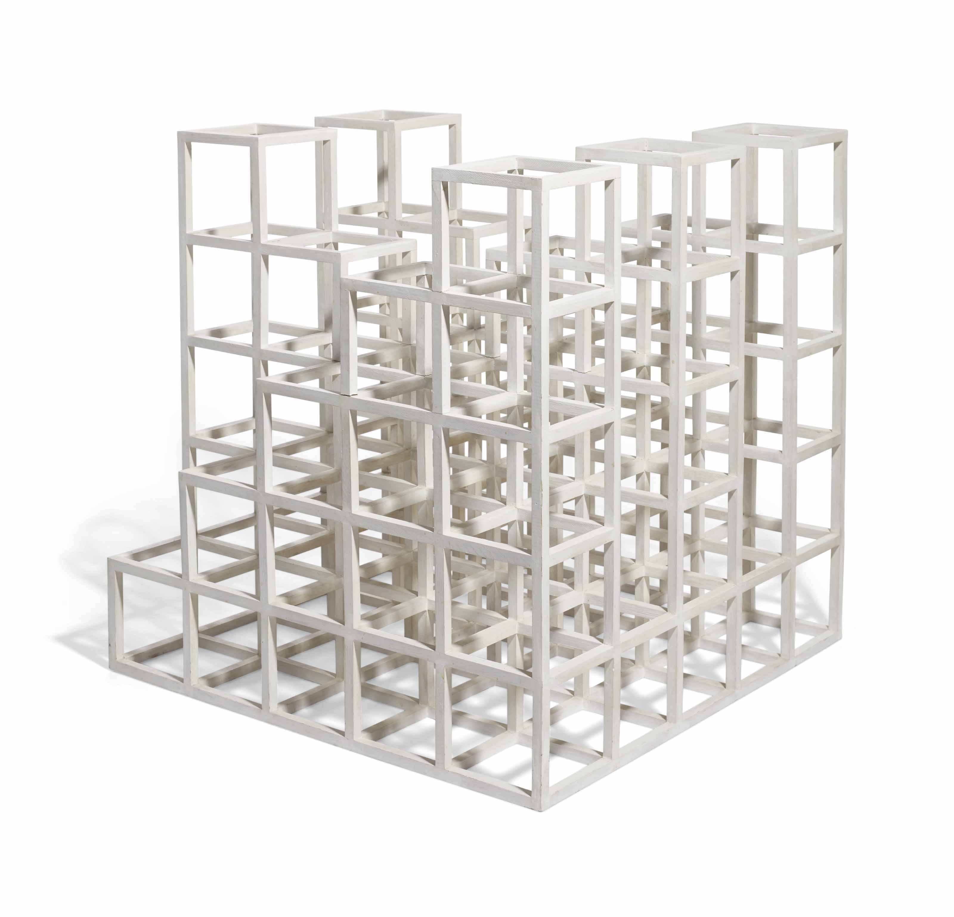 Cube structure based on five modules