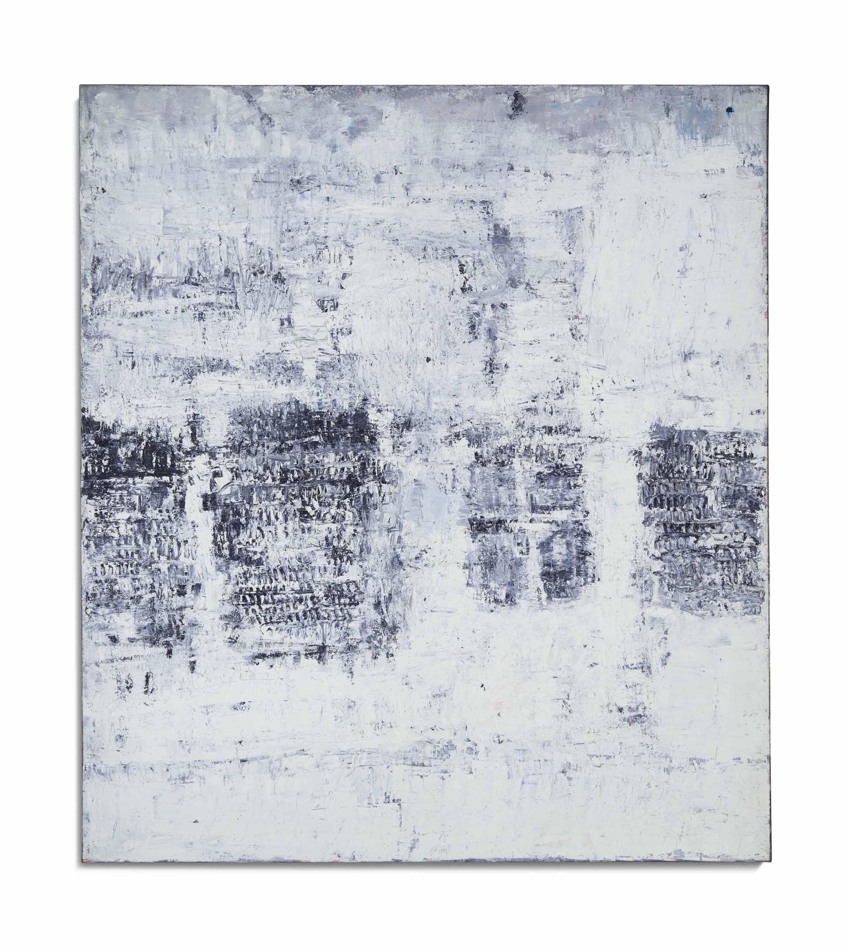 Composition avec 4 formes grises