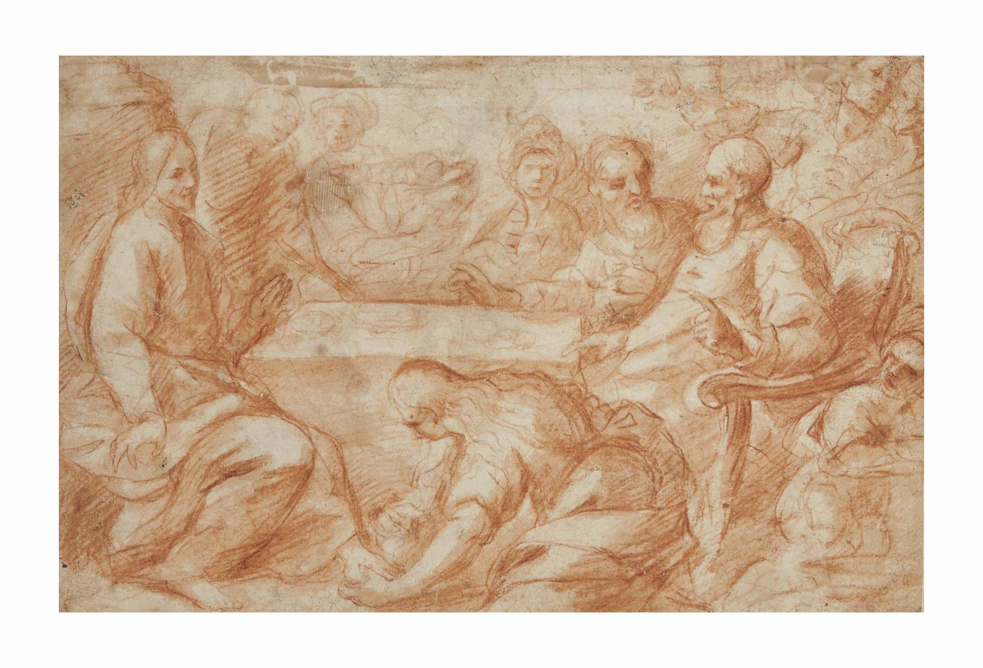 Le Christ chez Simon le pharisien