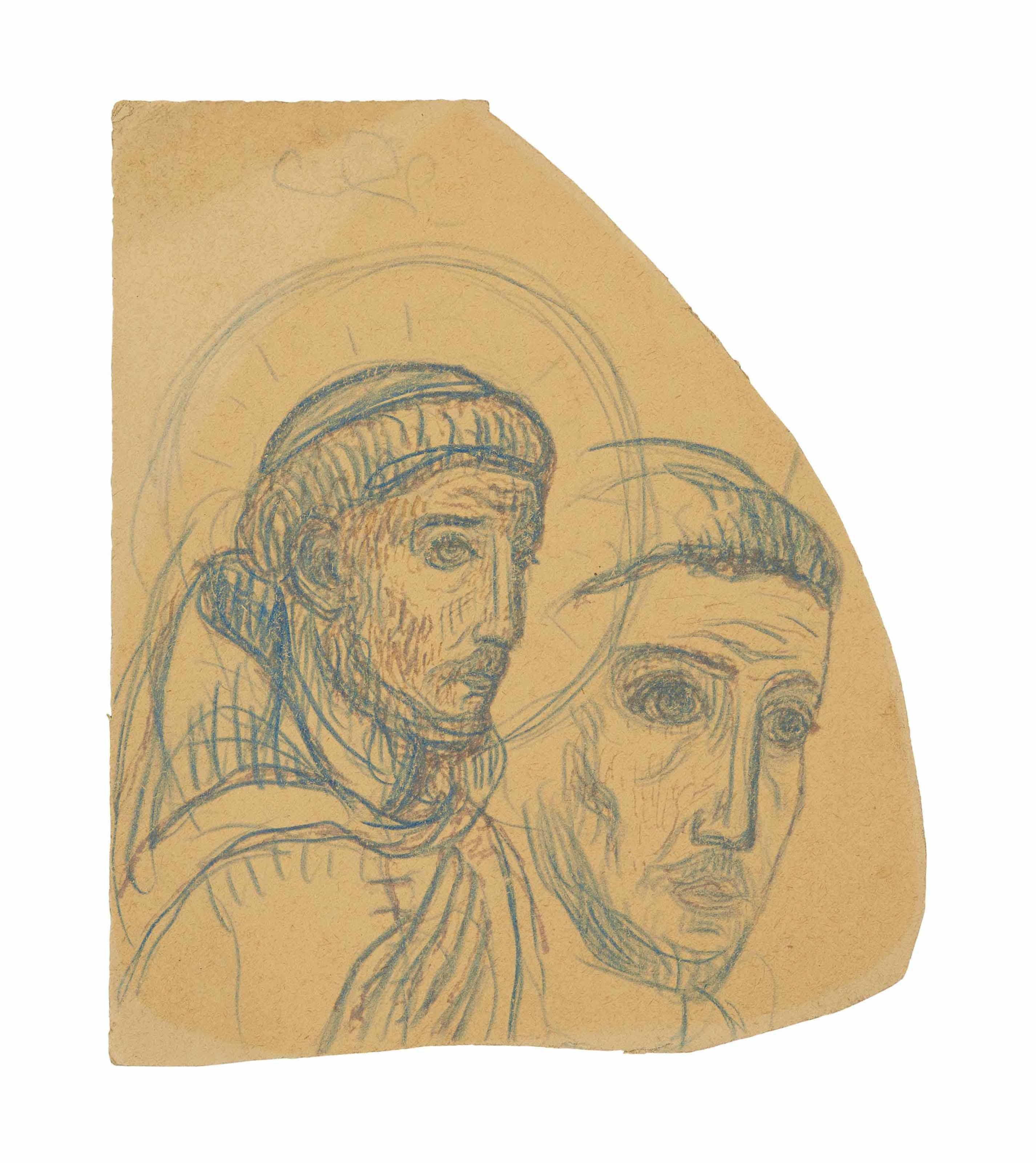 Saint François ou Deux têtes de moine