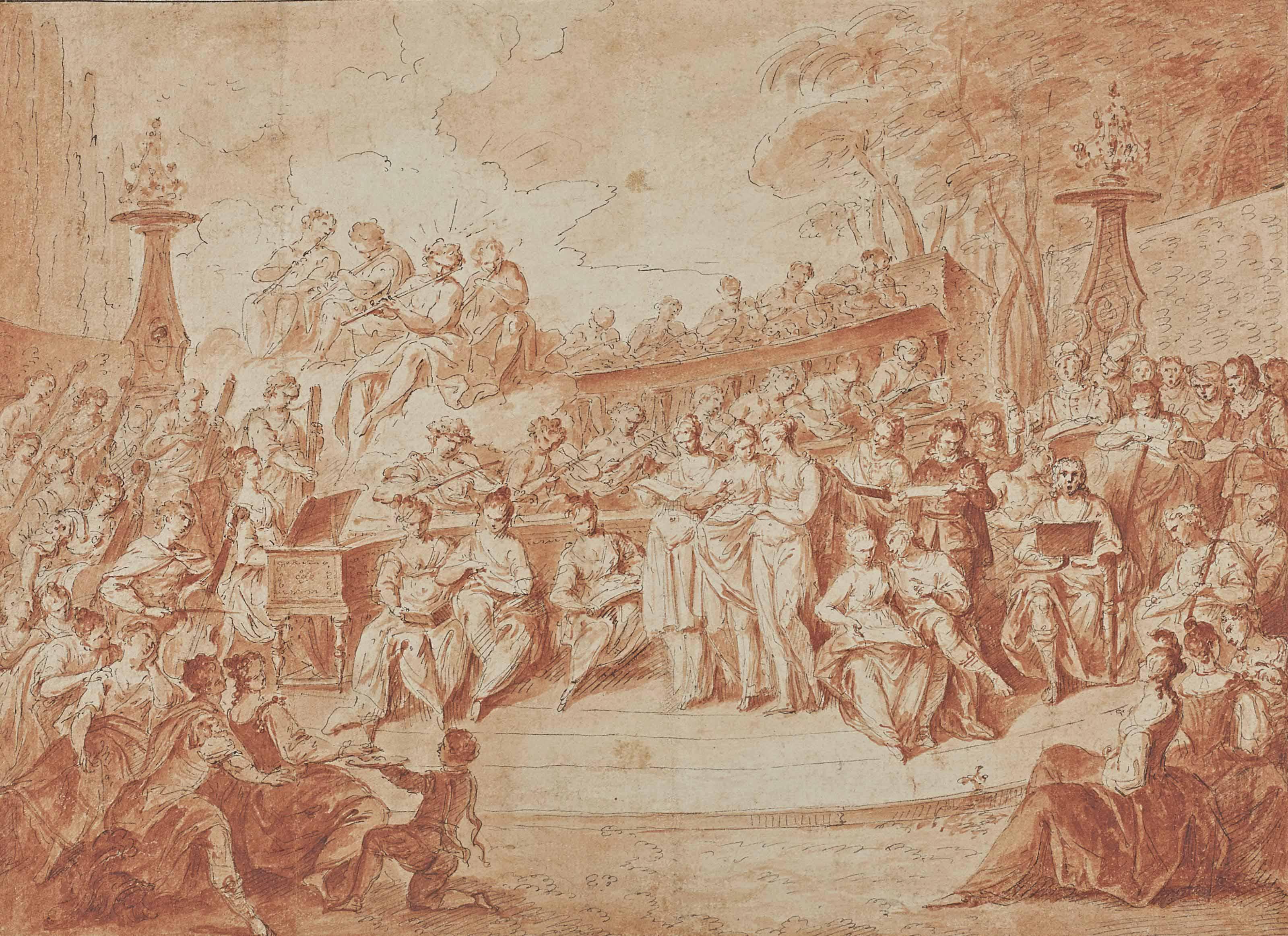 Concert dans le Bosquet des Rocailles à Versailles