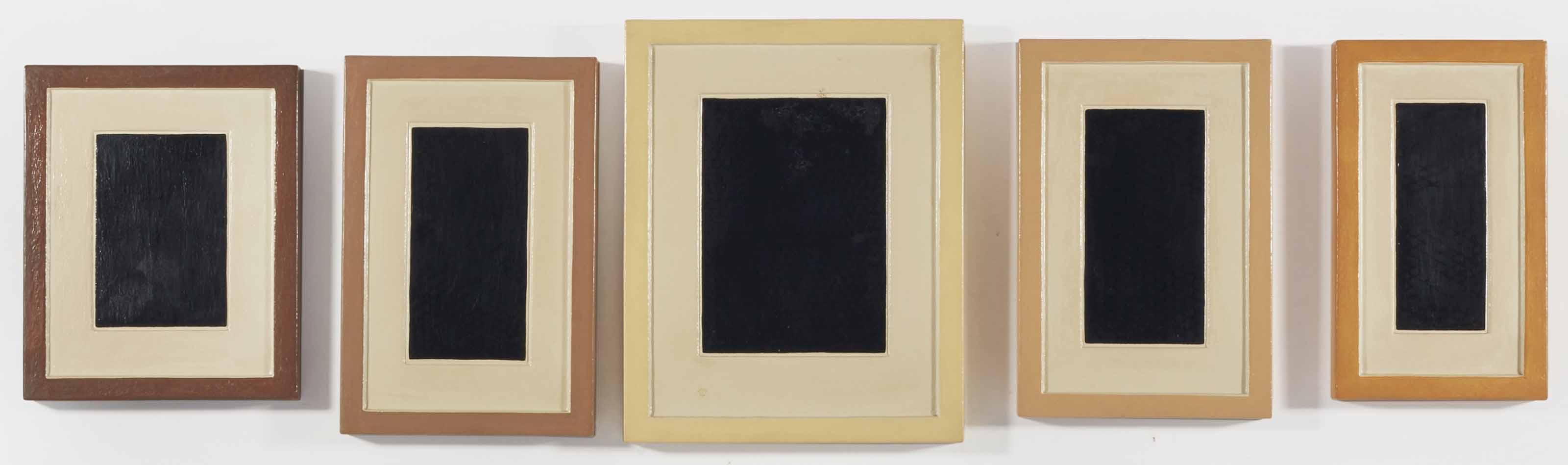 Collection of Five Plaster Surrogates