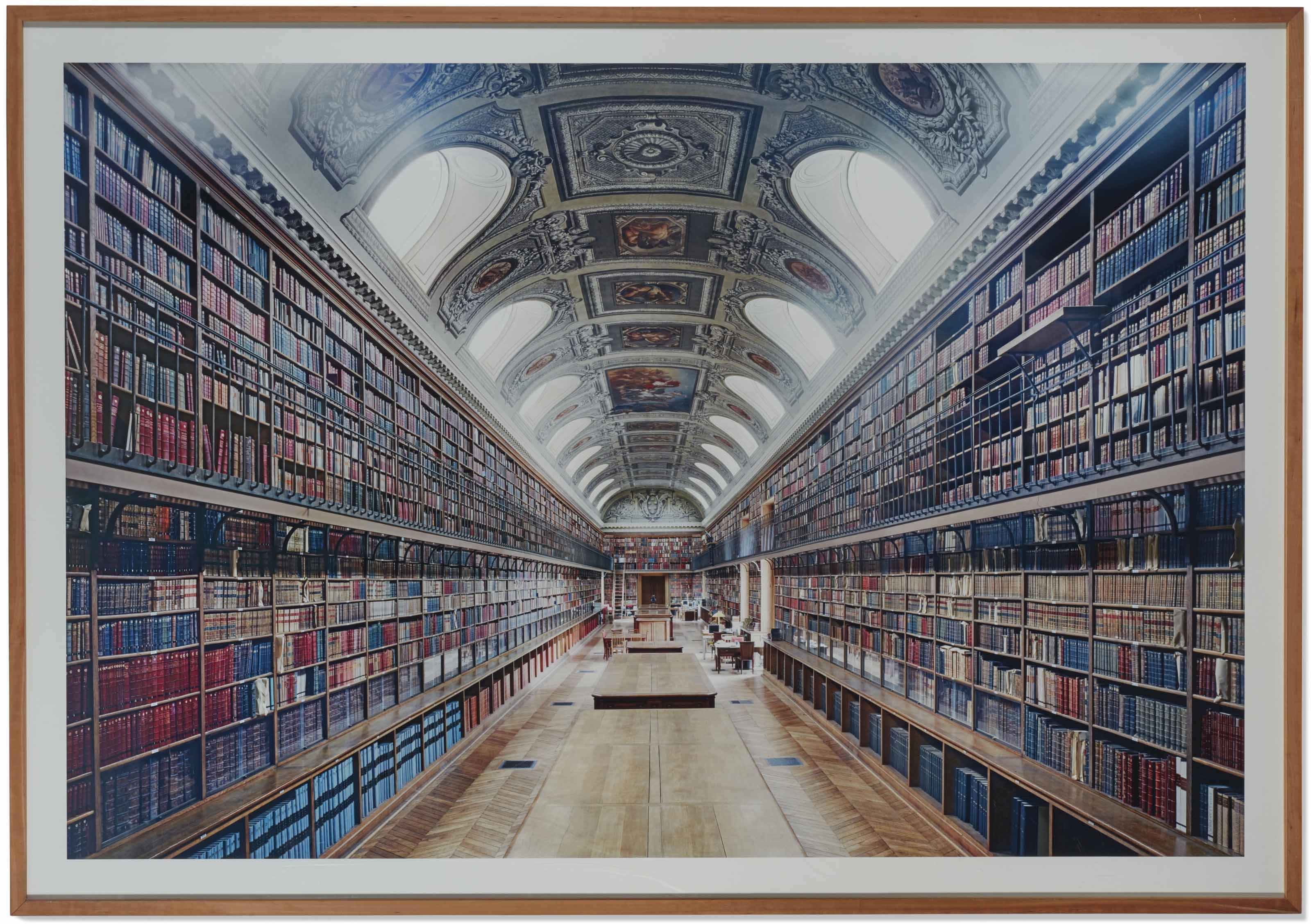 Bibliothèque du Sénat Paris I, 2007