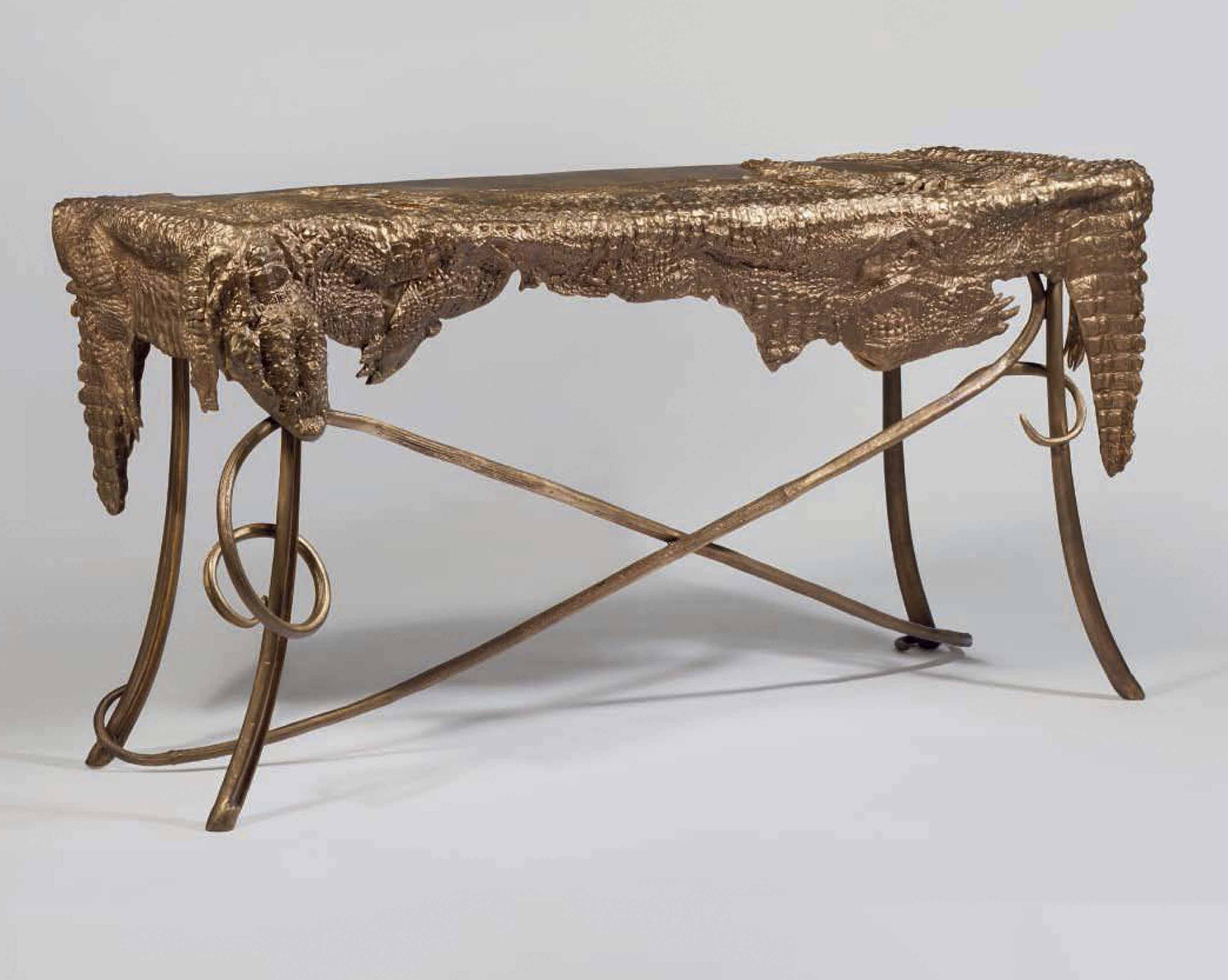 1925), Croco Desk, 2008. Estimate: U20ac120,000 180,000. This Lot Is Offered In  Collection Alberto Pinto On 12 14 September 2017 At Christieu0027s In Paris