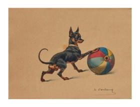 CHARLES-FERNAND DE CONDAMY (PARIS 1855-1913)