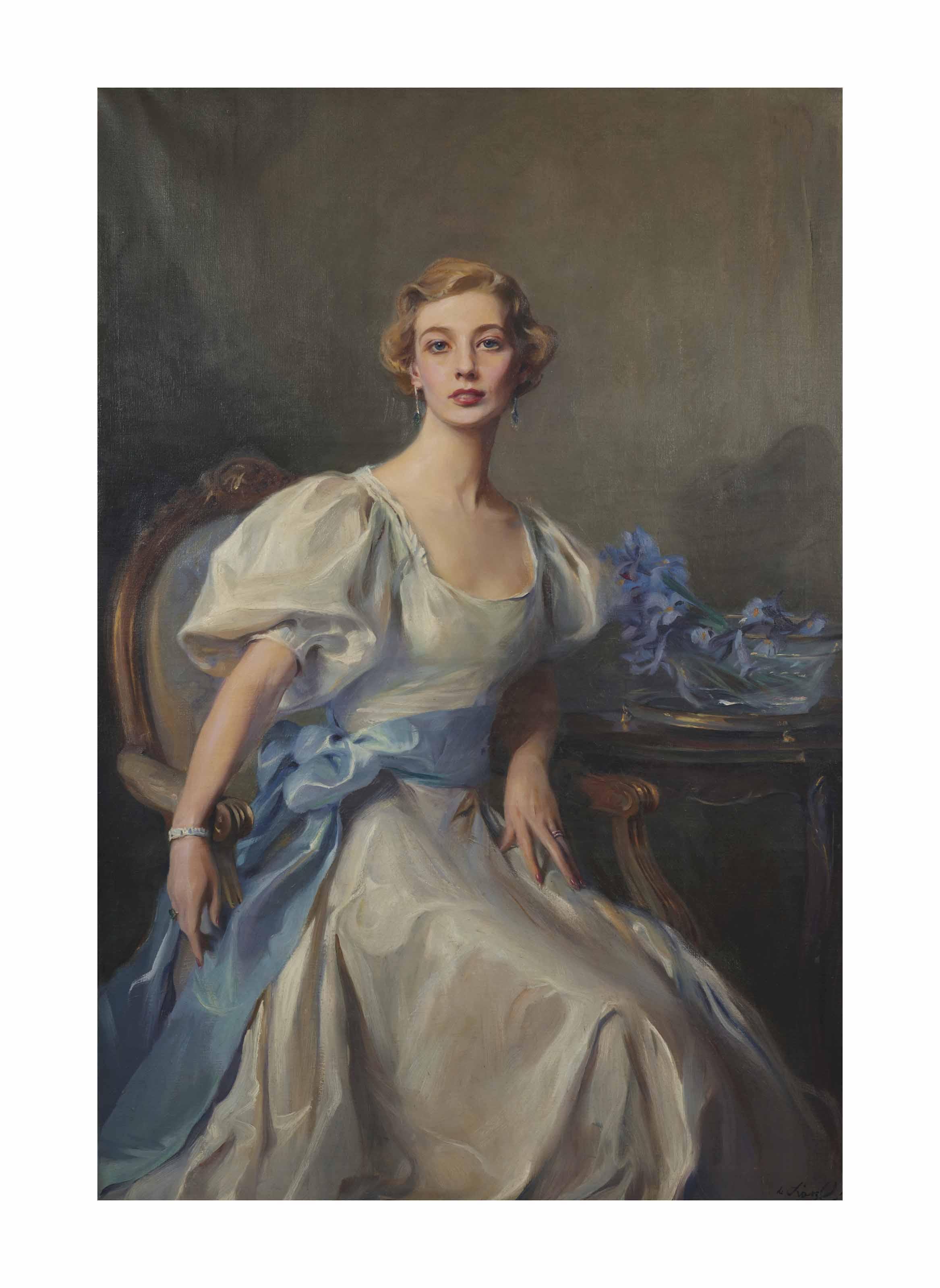 Portrait de Cécile Elizabeth Florence Rankin (1914-1993), Lady Grandy