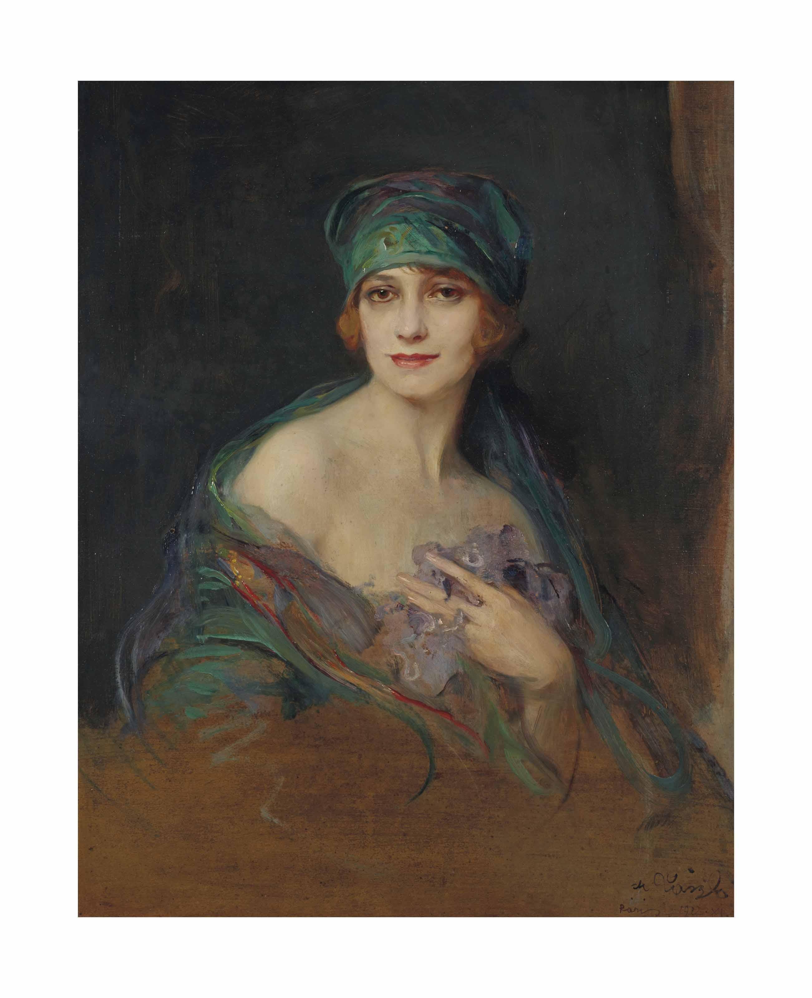 Portrait de la princesse Donna Maria Ruspoli (1888-1976), duchesse de Gramont