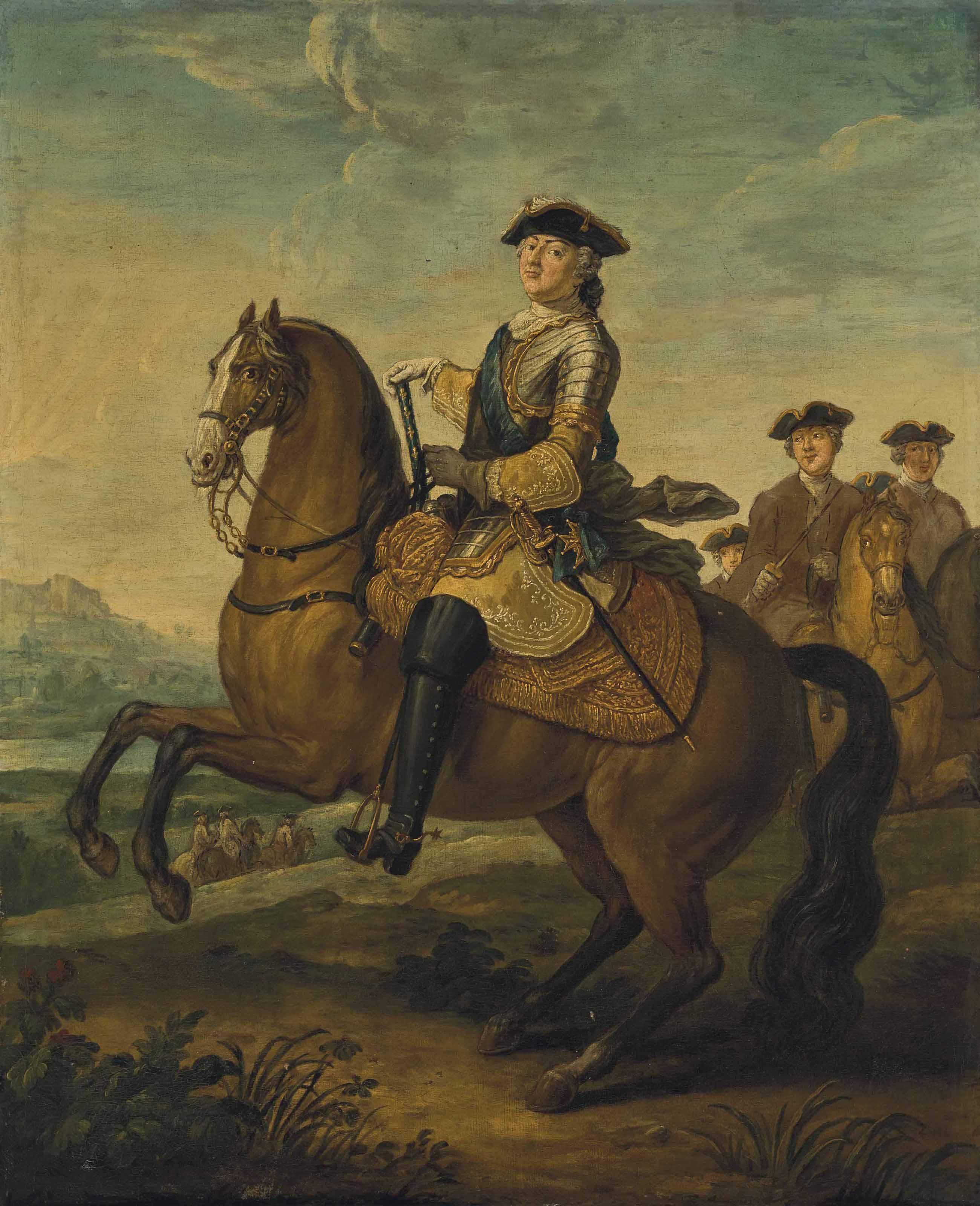 CHARLES PARROCEL (PARIS 1688-1