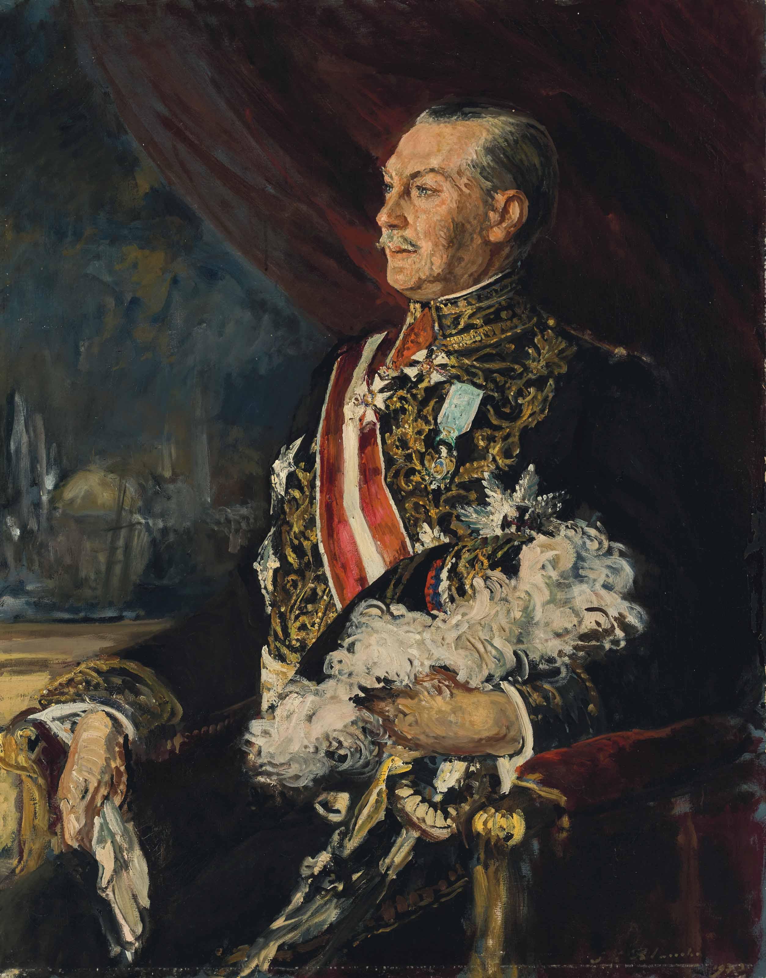 Portrait de Louis Charles Pineton de Chambrun (1875-1952), ambassadeur de France en Turquie