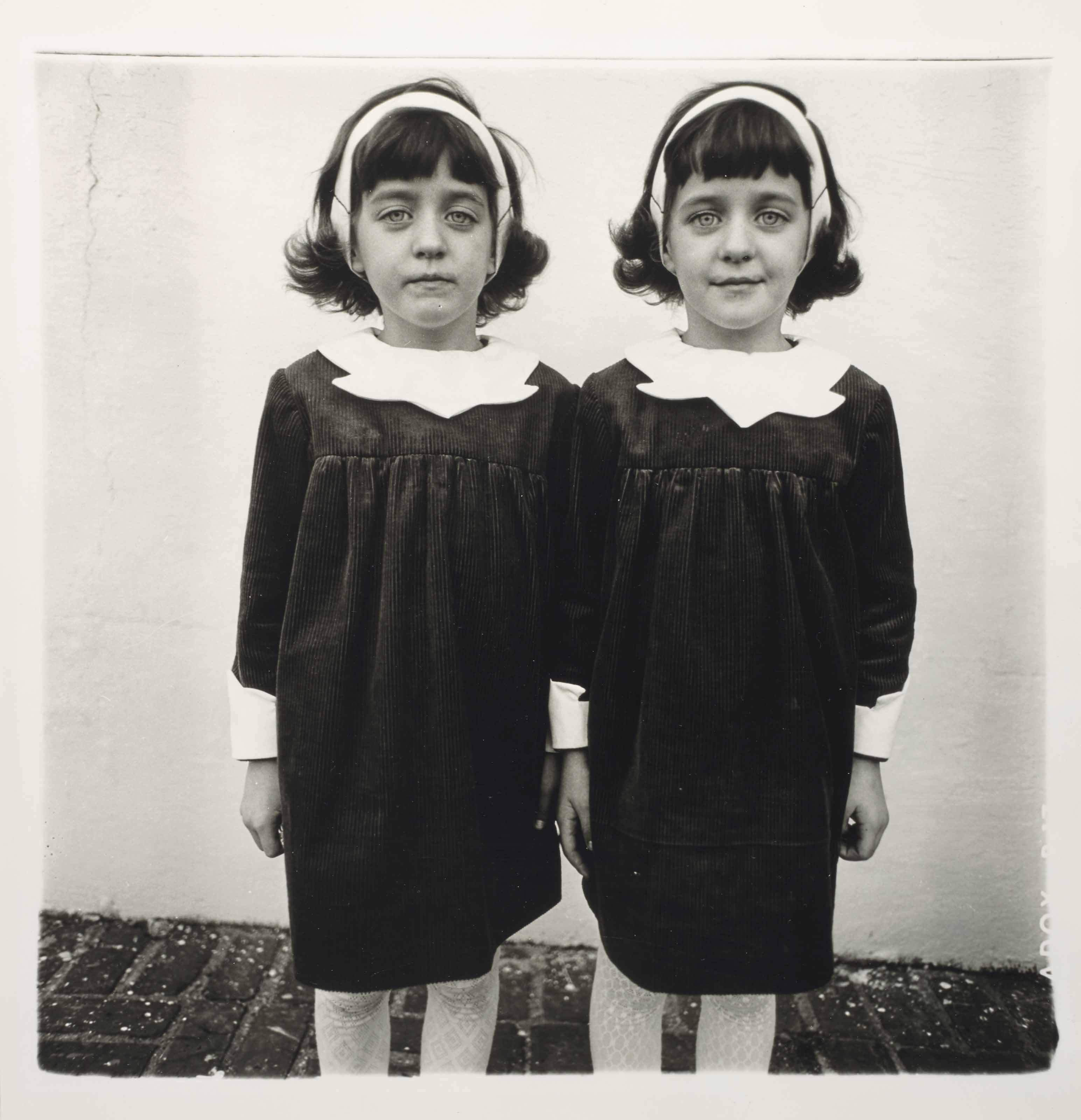 Identical twins, Roselle, N.J, 1966