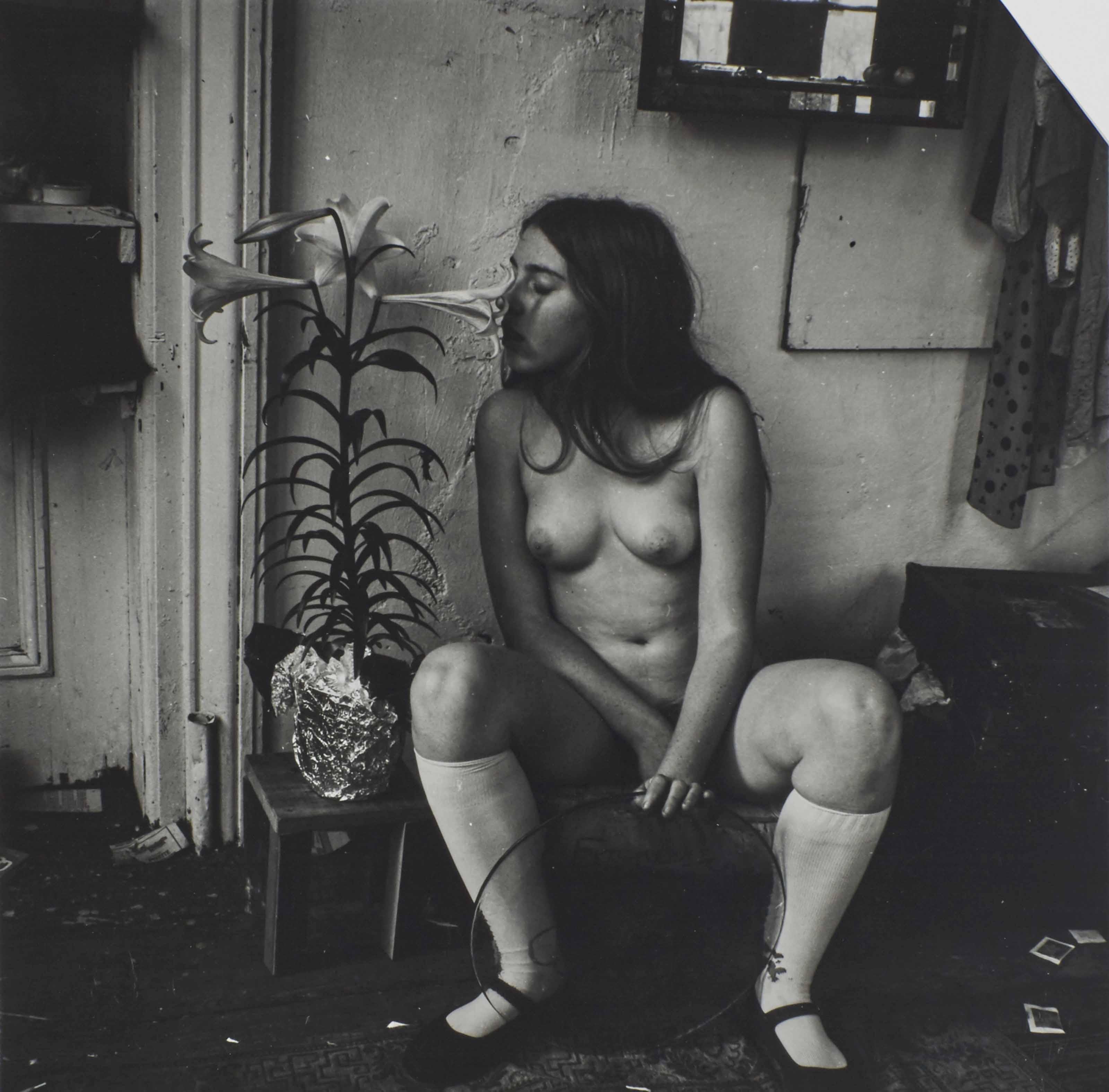 E.2.1 (Self-Portrait with Lily), 1972-75