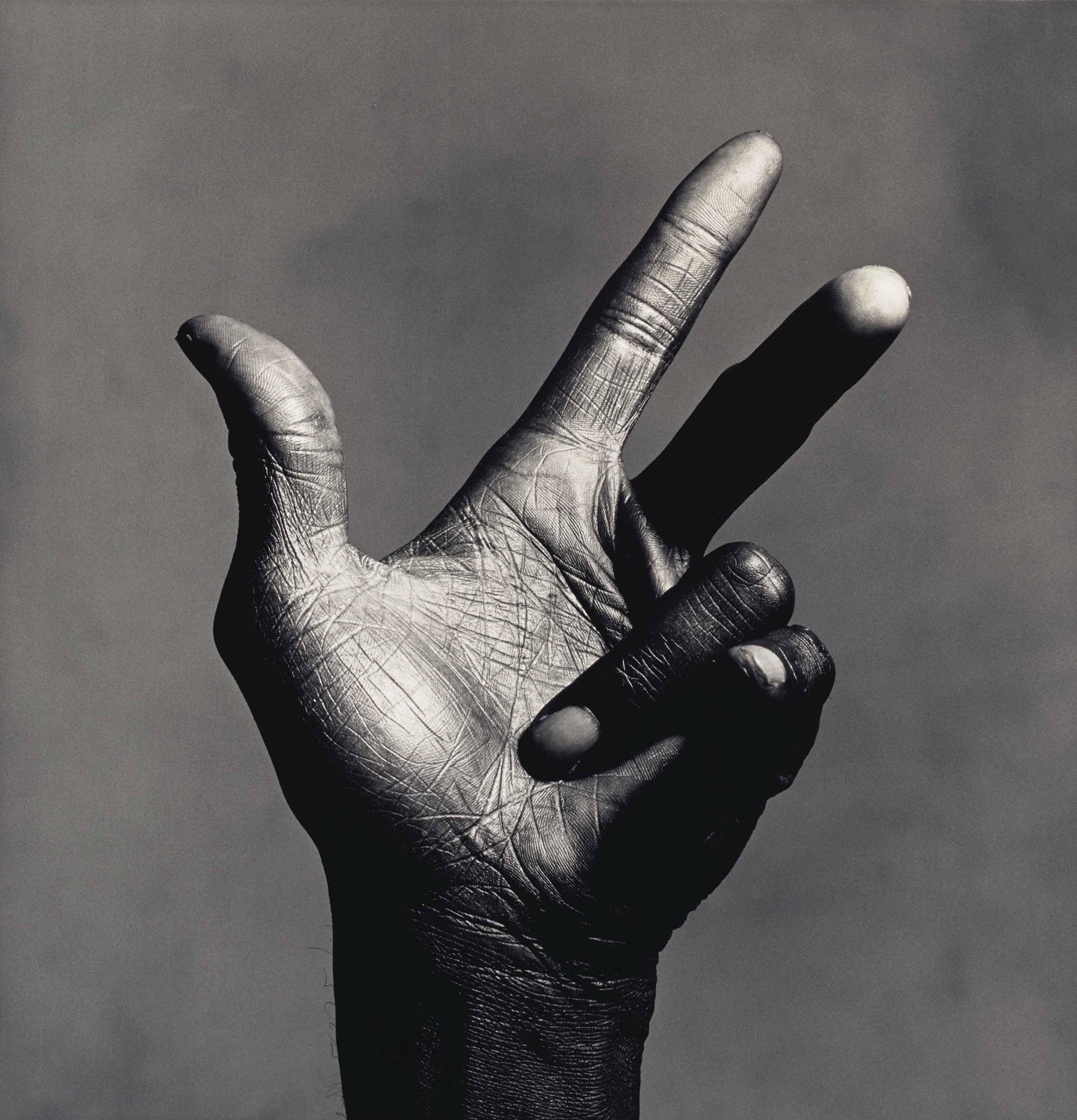 The Hand of Miles Davis (B), New York, 1986