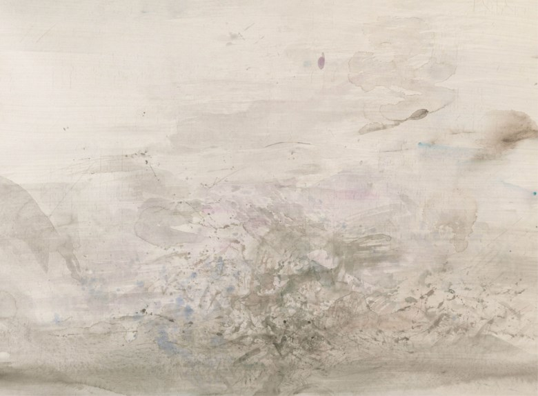 Zao Wou-Ki (FranceChina, 1920-2013), Untitled, 1961. 54.5 x 74.2  cm (21½ x 29¼  in). Estimate CNY 600,000-800,000. This lot is offered in First Open  Shanghai on 24 September 2017  at Christie's in Shanghai
