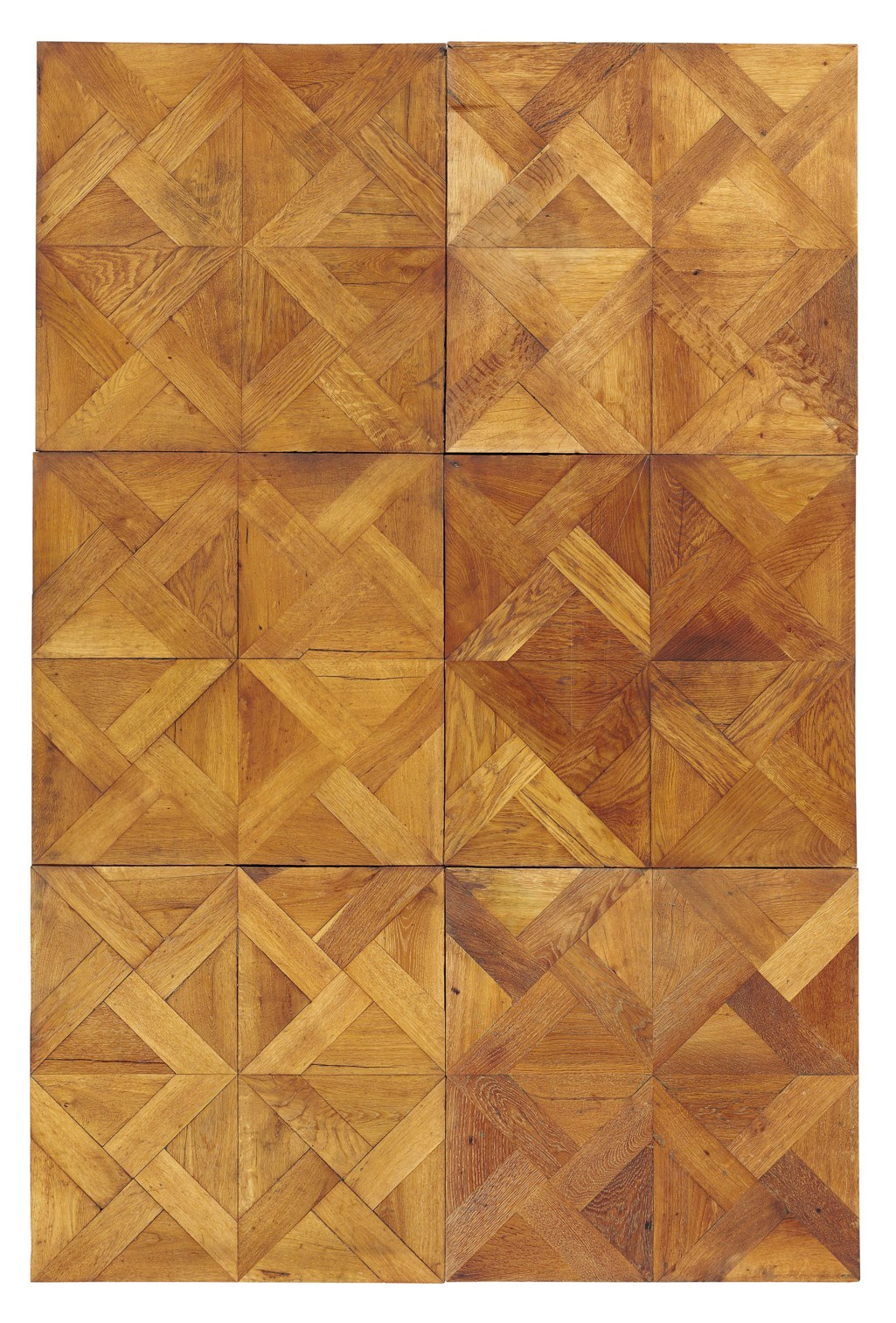 AN ITALIAN OAK PARQUET FLOOR