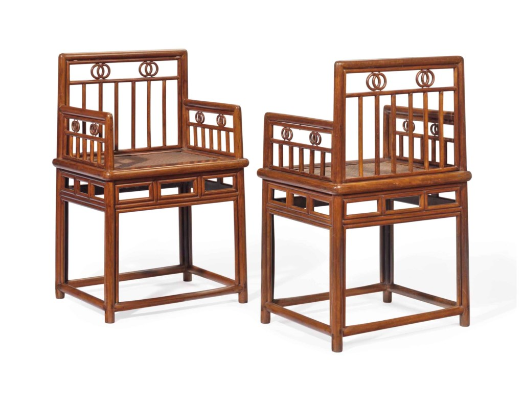 A PAIR OF CHINESE TEILIMU LOWBACK ARMCHAIRS, MEIGUIYI