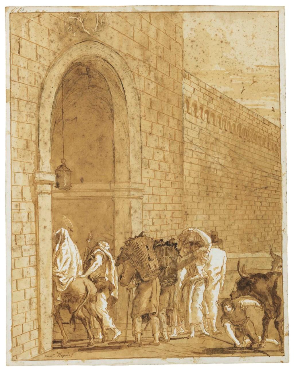 Giovanni Domenico Tiepolo (Venice 1727-1804)