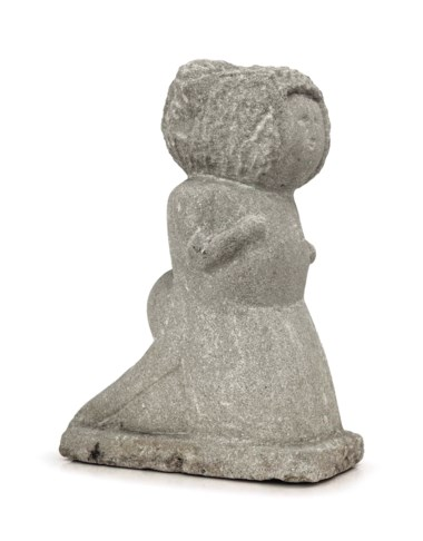 William Edmondson (1874-1951), Lady, 1930s. Estimate $40,000-80,000. This lot is offered in Beyond Imagination Outsider and Vernacular Art Featuring the Collection of Marjorie and Harvey Freed on 19 January 2018  at Christie's in New York
