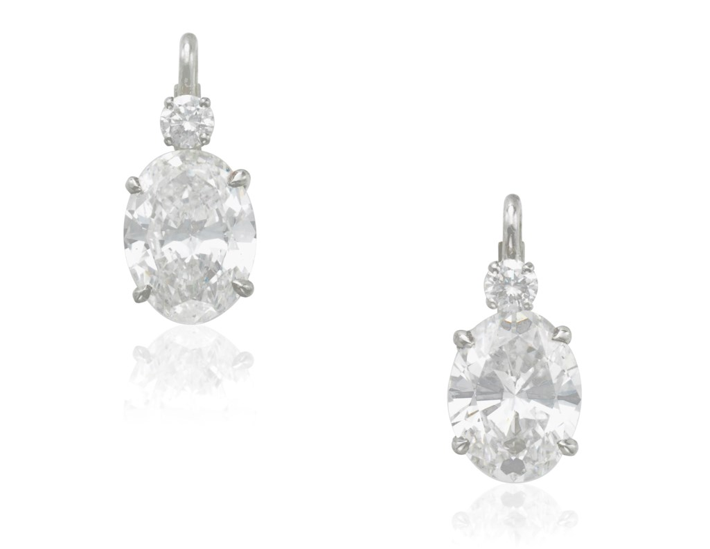 DIAMOND EARRINGS WITH GIA REPORTS