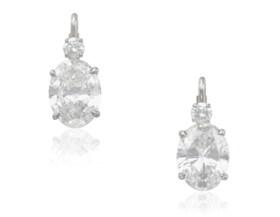 DIAMOND EARRINGS WITH GIA REPORTS
