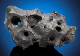 MATCHLESS CANYON DIABLO METEORITE — NATURAL SCULPTURE FROM O