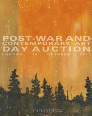 战后及当代艺术 (日间拍卖) auction at Christies