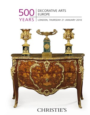 500 Years: Decorative Arts Europe