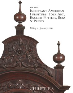 Important American Furniture, Folk Art, English Pottery, Rugs & Prints