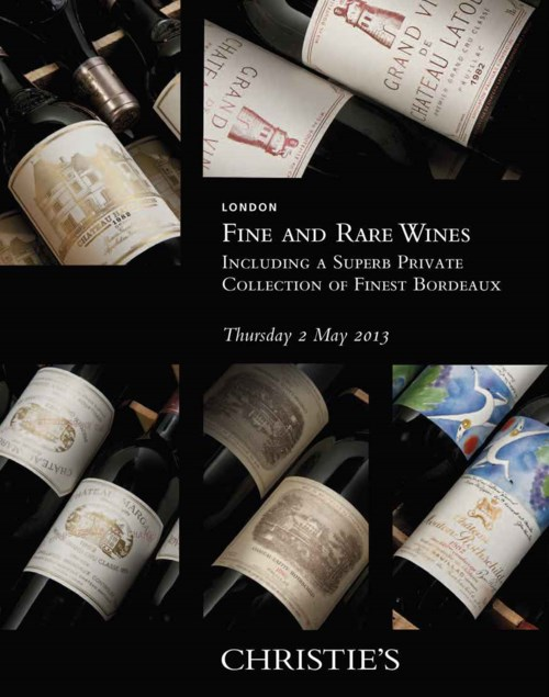 Fine and Rare Wines Including a Superb private Collection of Finest Bordeaux