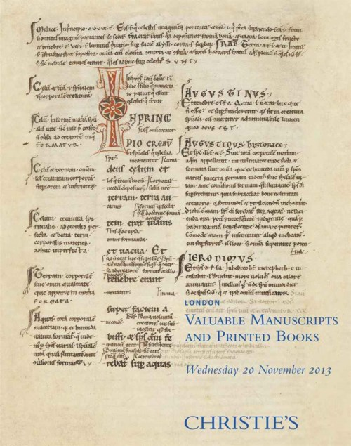 Valuable Manuscripts and Printed Books
