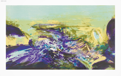 Prints & Works on Paper by Zao Wou-Ki
