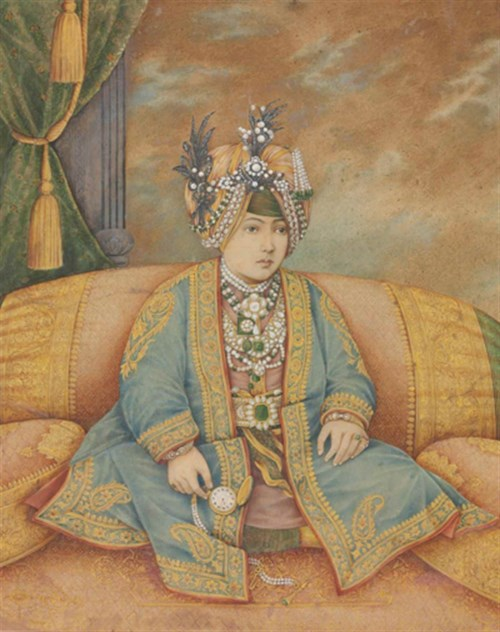 Indian Art Online : Painting the Maharaja
